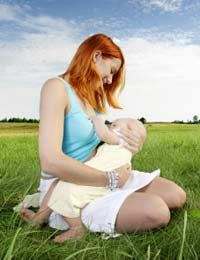 Breastfeeding Nursing Public Baby